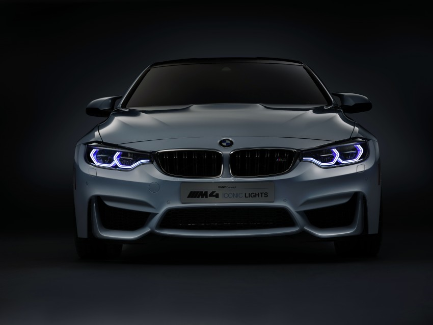 CES 2015: BMW M4 Concept Iconic Lights showcases laser and OLED technology for automotive lighting Image #300362