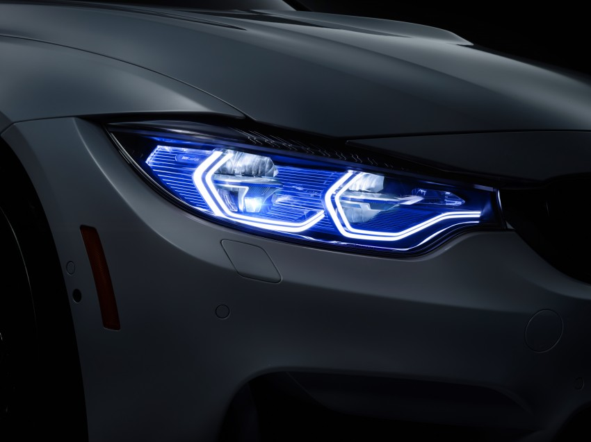 CES 2015: BMW M4 Concept Iconic Lights showcases laser and OLED technology for automotive lighting Image #300365