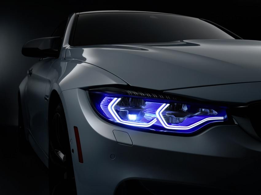 CES 2015: BMW M4 Concept Iconic Lights showcases laser and OLED technology for automotive lighting Image #300367