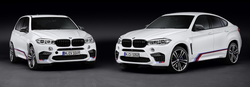 BMW X5 M, X6 M rigged with M Performance Parts Image #308140