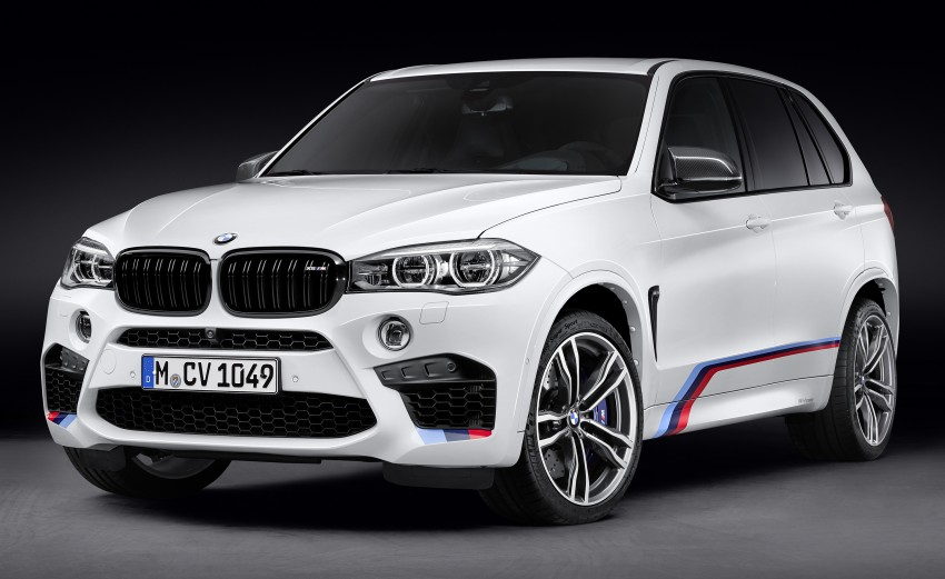 BMW X5 M, X6 M rigged with M Performance Parts Image #308141