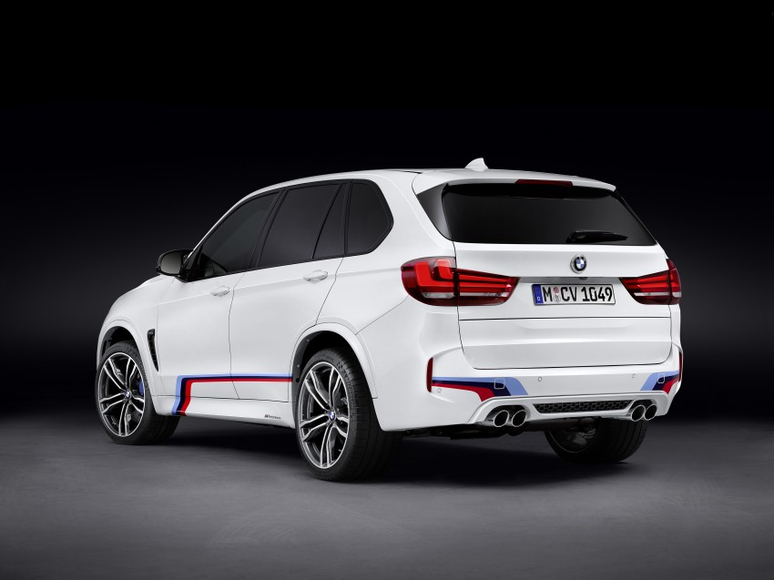 BMW X5 M, X6 M rigged with M Performance Parts Image #308142