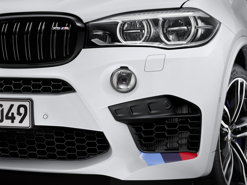 BMW X5 M, X6 M rigged with M Performance Parts Image #308143