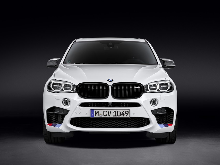 BMW X5 M, X6 M rigged with M Performance Parts Image #308145
