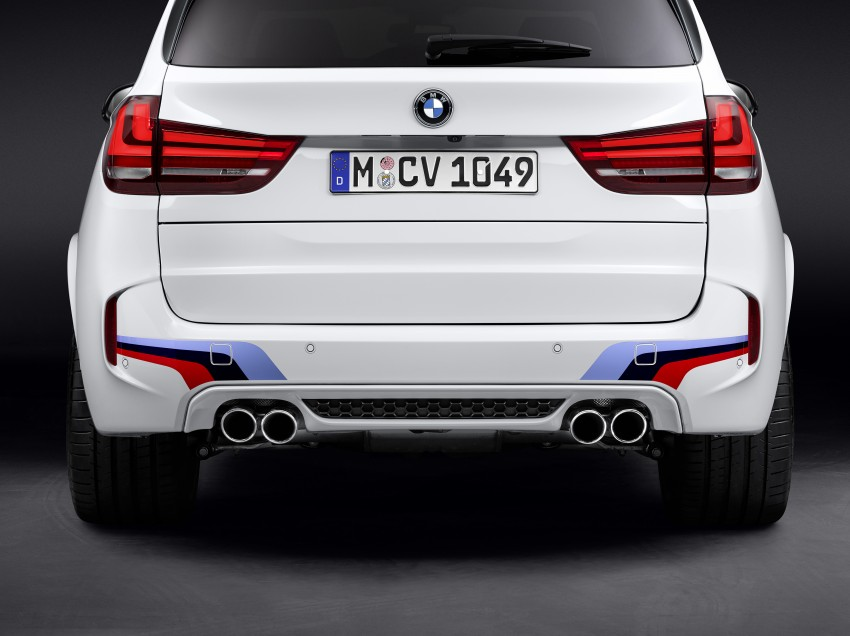 BMW X5 M, X6 M rigged with M Performance Parts Image #308147