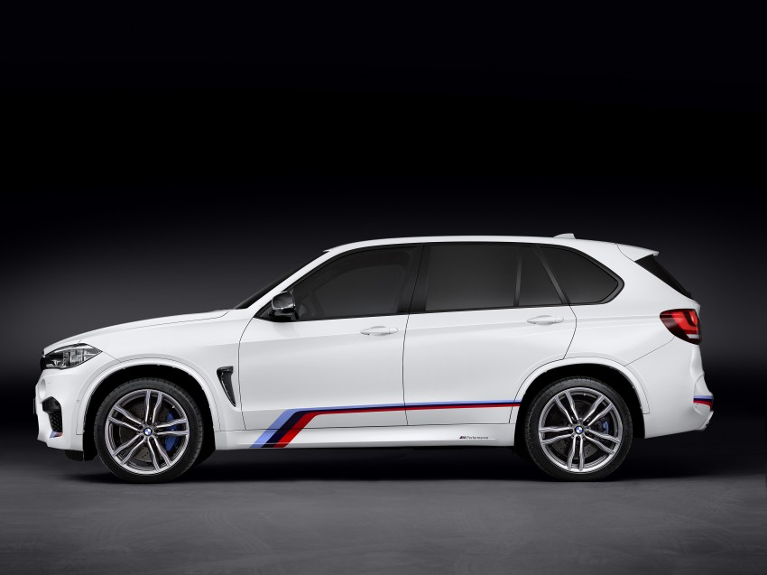 BMW X5 M, X6 M rigged with M Performance Parts Image #308148