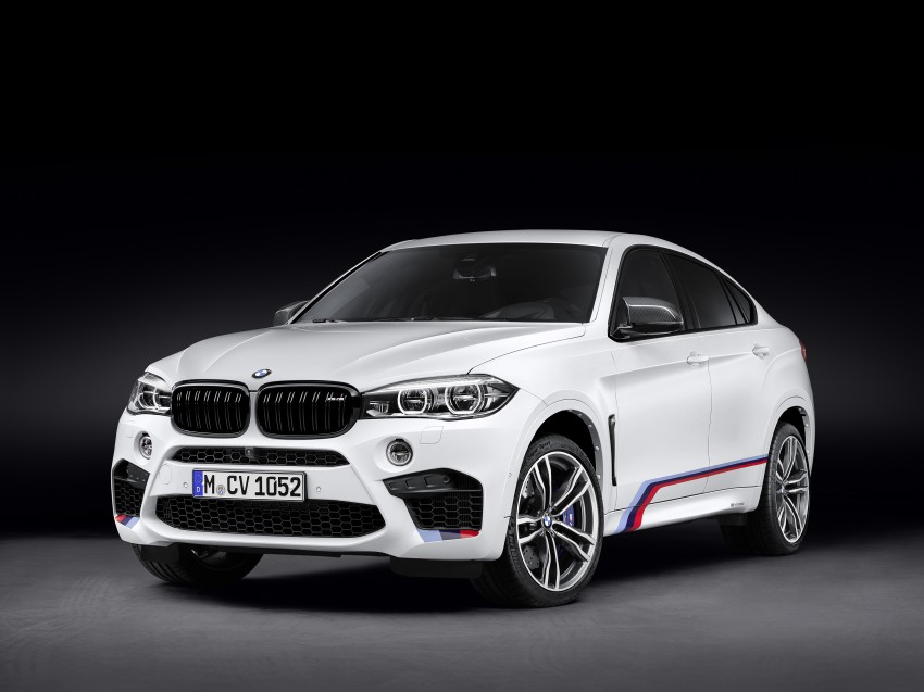 BMW X5 M, X6 M rigged with M Performance Parts Image #308152