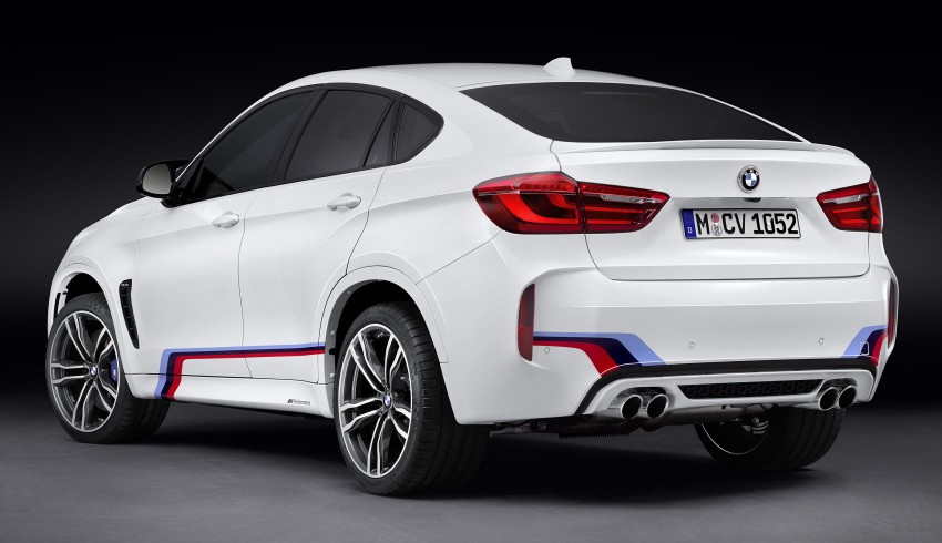 BMW X5 M, X6 M rigged with M Performance Parts Image #308153