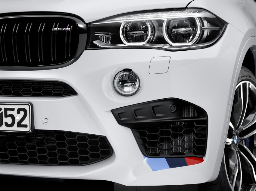 BMW X5 M, X6 M rigged with M Performance Parts Image #308154