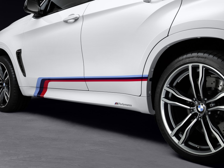 BMW X5 M, X6 M rigged with M Performance Parts Image #308155