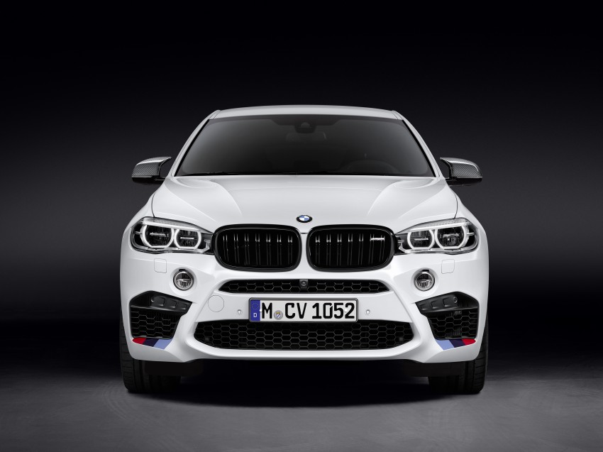 BMW X5 M, X6 M rigged with M Performance Parts Image #308156