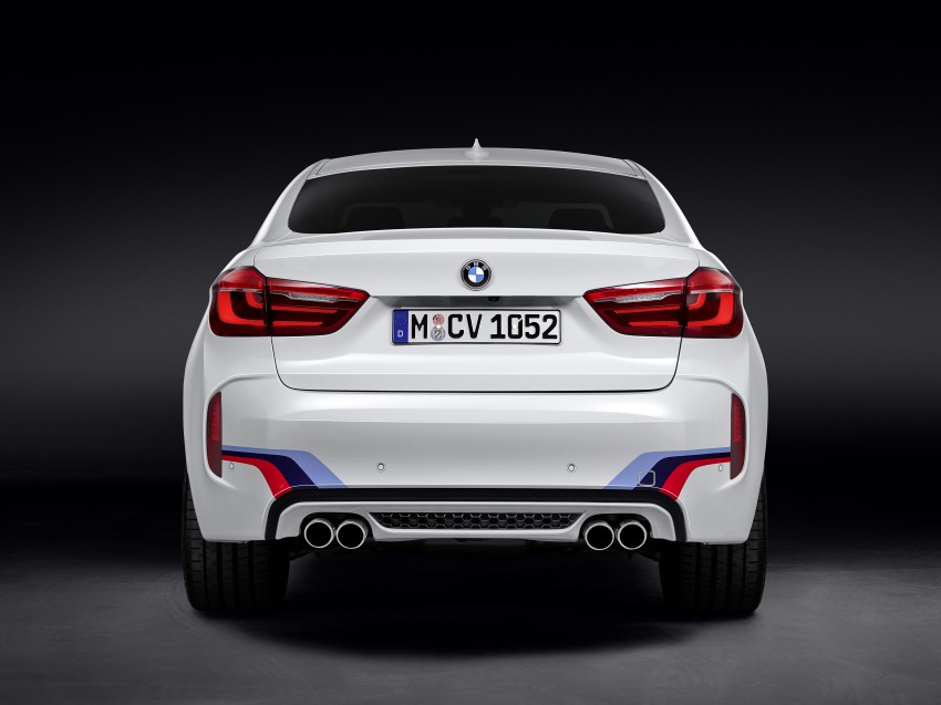 BMW X5 M, X6 M rigged with M Performance Parts Image #308157