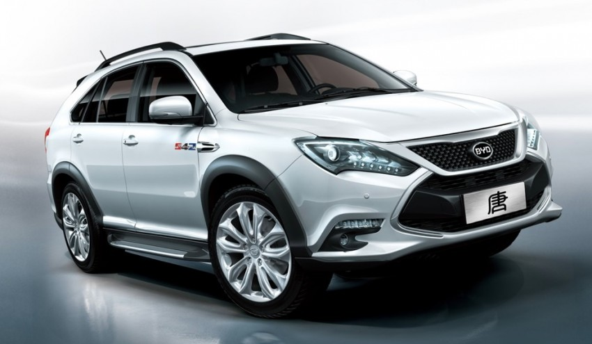 BYD Tang unveiled – 505 hp, 720 Nm, 0-100 km/h in 4.9 Image #306344