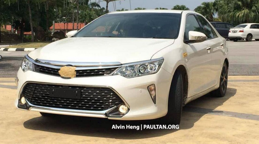 SPIED: Toyota Camry facelift in Msia, launching soon? Image #306736