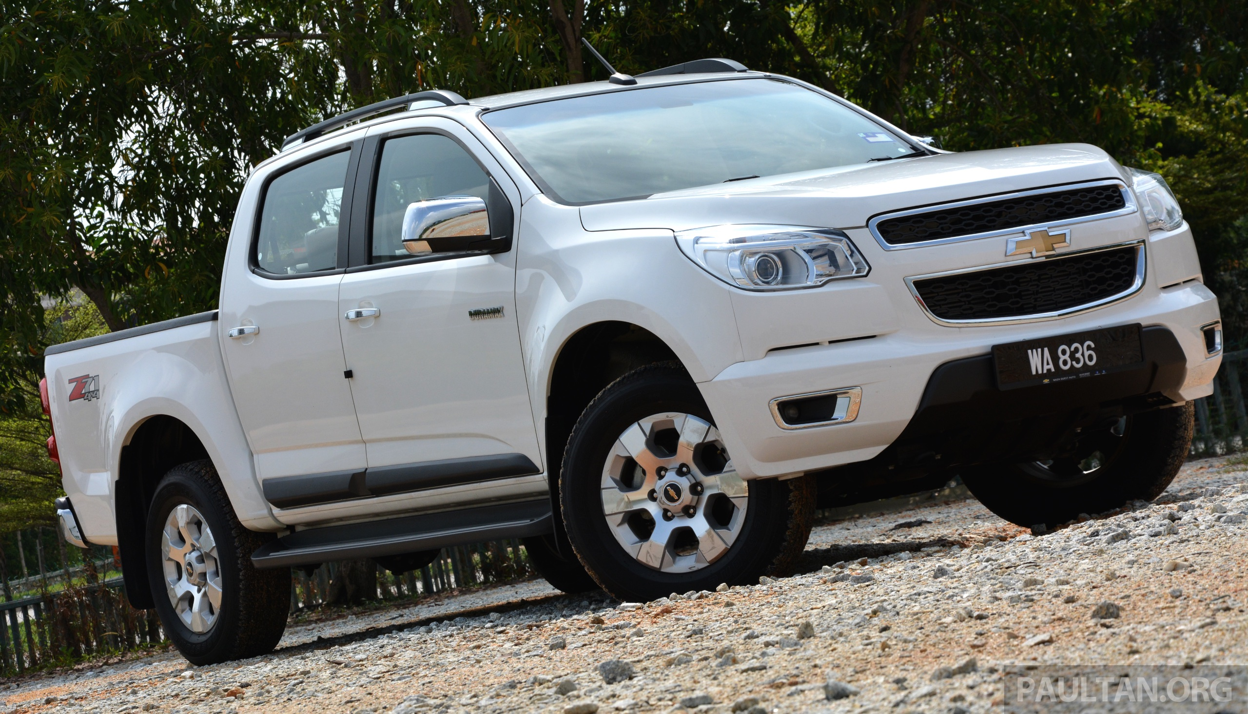 Back to Story: DRIVEN: Chevrolet Colorado 2.8 LTZ Muscle Power