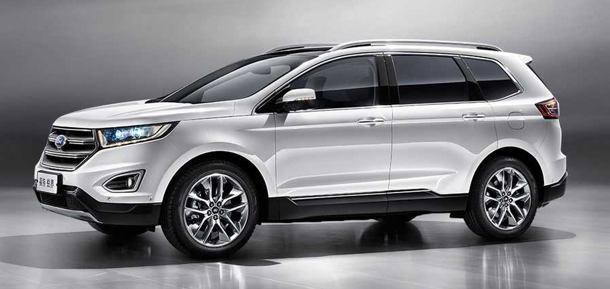 2015 Ford Edge For Sale >> Ford Edge - China gets unique seven-seater version