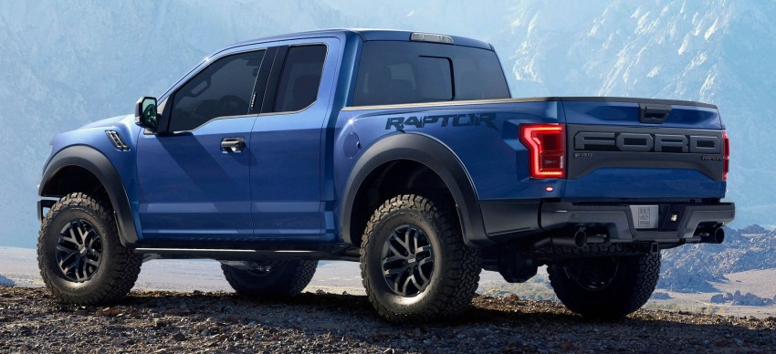 2016 Ford F-150 Raptor – a high performance pickup truck with turbo power and ten-speed automatic! Image #302644