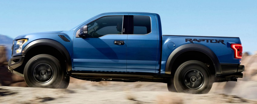2016 Ford F-150 Raptor – a high performance pickup truck with turbo power and ten-speed automatic! Image #302645