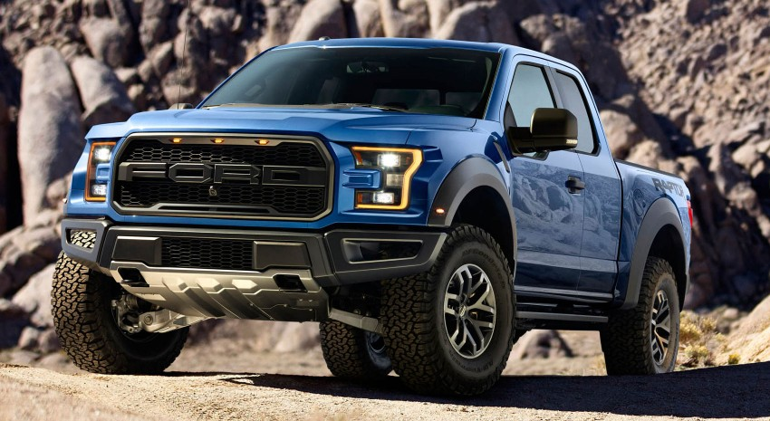 2016 Ford F-150 Raptor – a high performance pickup truck with turbo power and ten-speed automatic! Image #302646