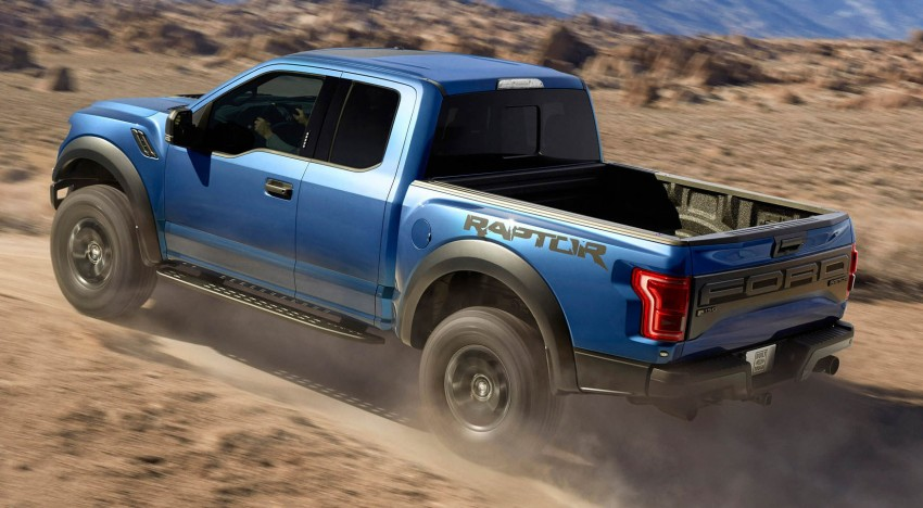 2016 Ford F-150 Raptor – a high performance pickup truck with turbo power and ten-speed automatic! Image #302638