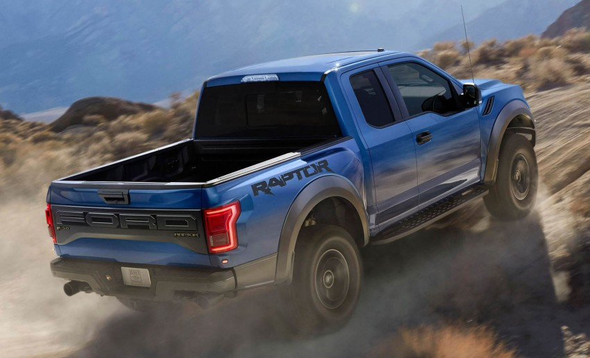 2016 Ford F-150 Raptor – a high performance pickup truck with turbo power and ten-speed automatic! Image #302647