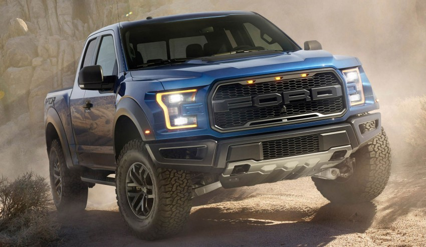 2016 Ford F-150 Raptor – a high performance pickup truck with turbo power and ten-speed automatic! Image #302648