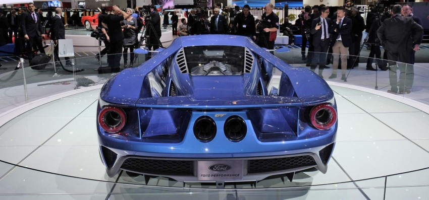 Ford GT roars back to life with 600 hp 3.5 EcoBoost V6 Image #316311
