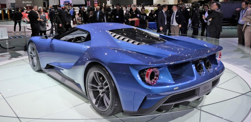 Ford GT roars back to life with 600 hp 3.5 EcoBoost V6 Image #316312