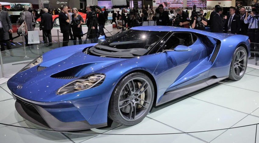 Ford GT roars back to life with 600 hp 3.5 EcoBoost V6 Image #316314