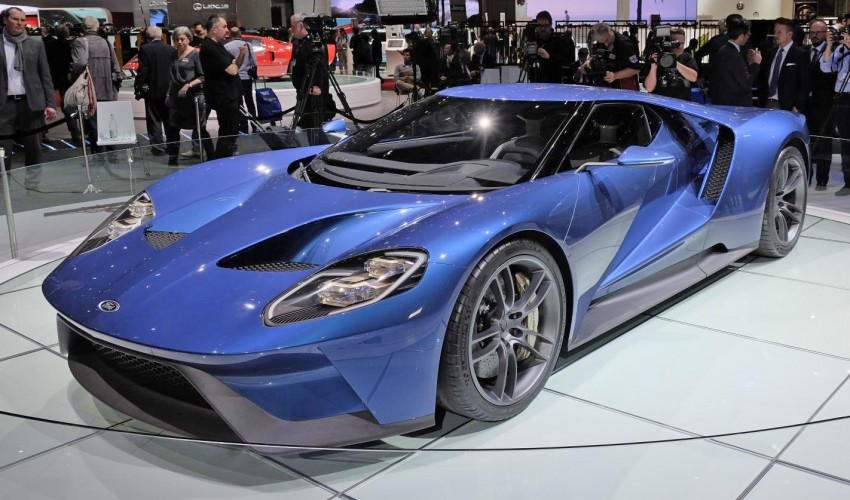 Ford GT roars back to life with 600 hp 3.5 EcoBoost V6 Image #316315