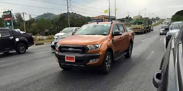 ford-ranger-wildtrak-facelift-spotted-thailand-2