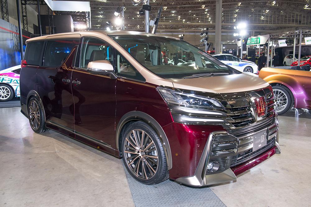 Gazoo Racing Style Lb Minivan Next Gen Toyota Vellfire
