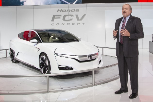 Honda Press Conference at 2015 NAIAS