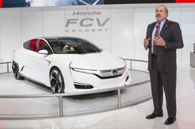 Honda Press Conference at 2015 NAIAS