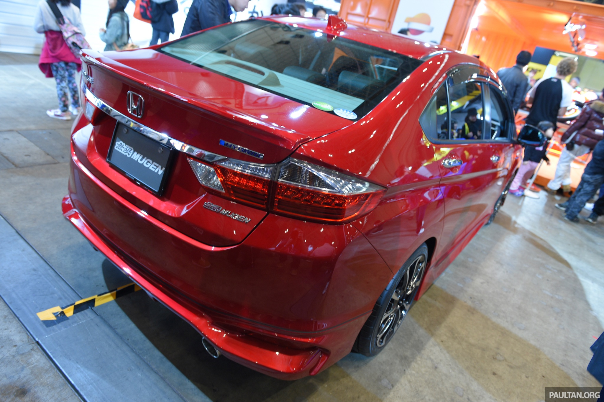 Mugen Shows Off Pimped Up Honda Grace City Hybrid At