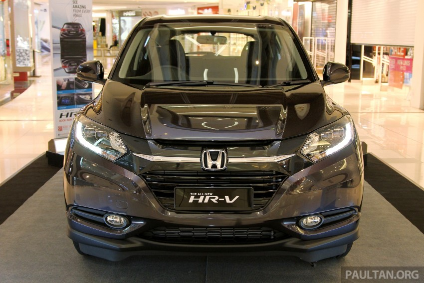 Honda HR-V in Malaysia – a closer look inside and out Image #304056