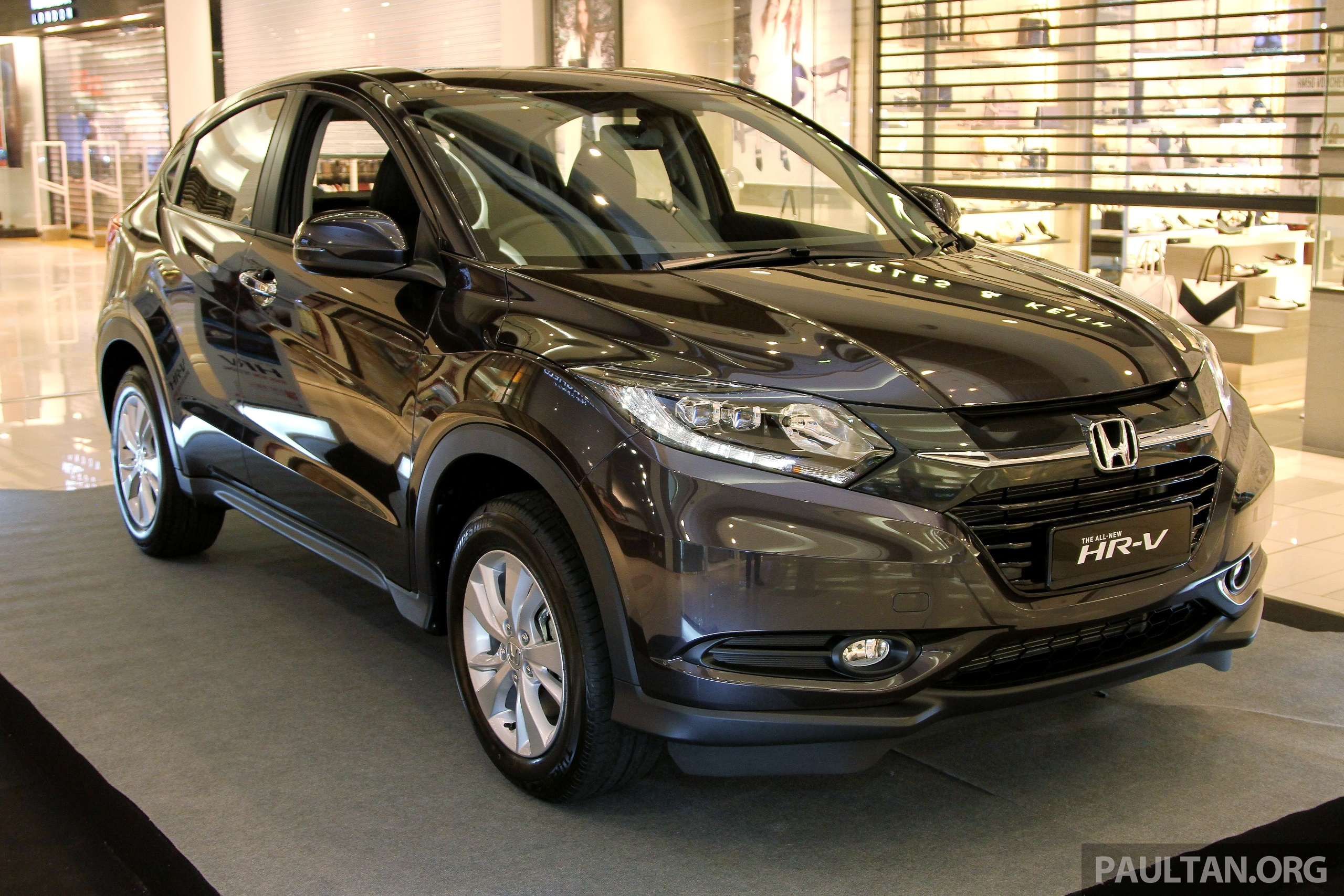 Back to Story: Honda HR-V in Malaysia – a closer look inside and out