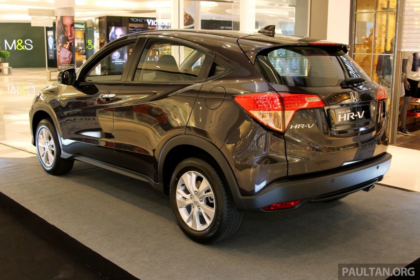Honda HR-V in Malaysia – a closer look inside and out Image #304059