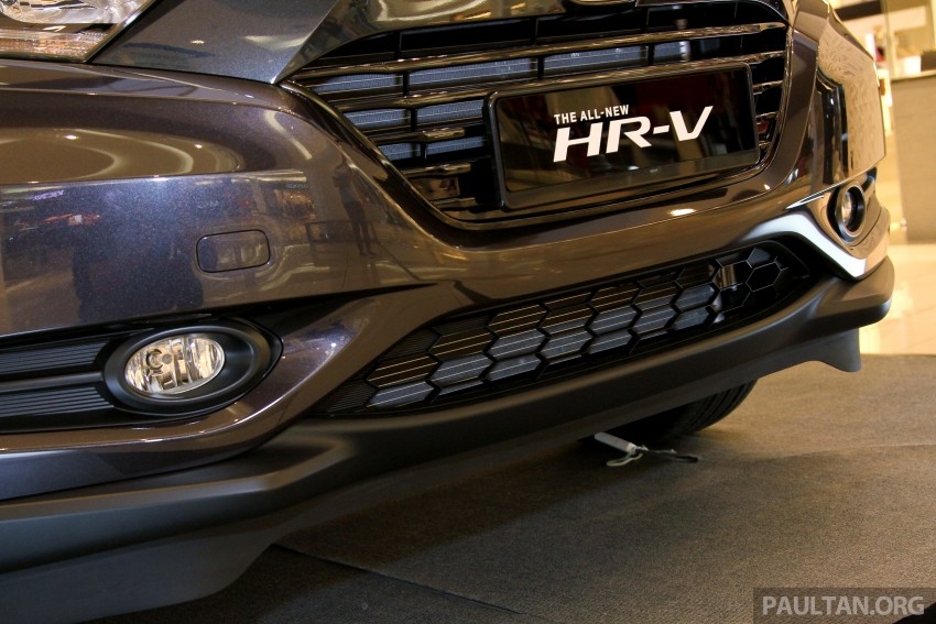 Honda HR-V in Malaysia – a closer look inside and out Image #304062