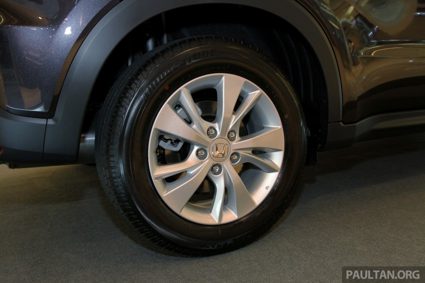 Honda HR-V in Malaysia – a closer look inside and out Image #304070