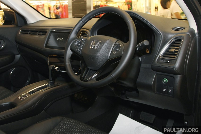 Honda HR-V in Malaysia – a closer look inside and out Image #304082