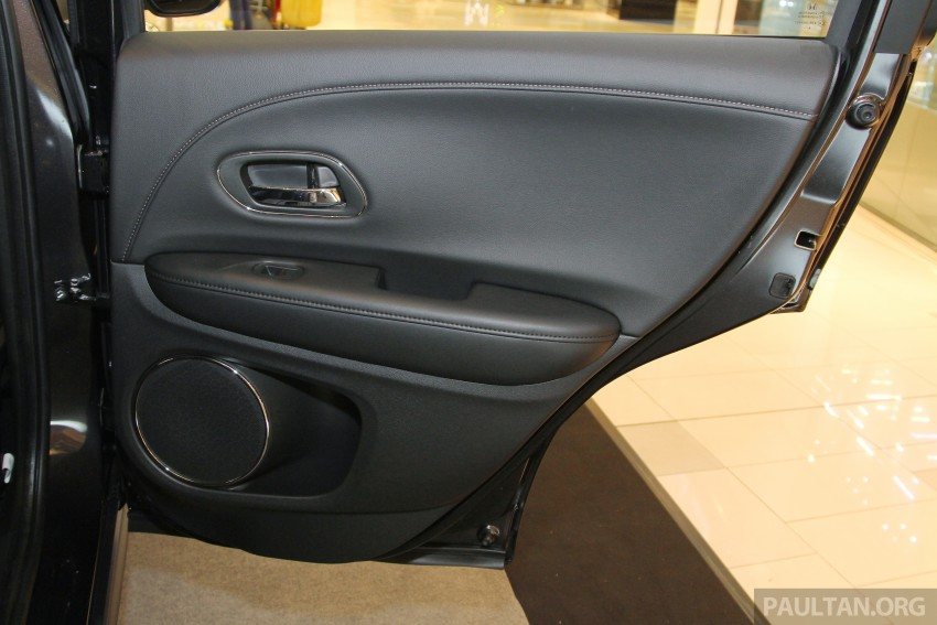 Honda HR-V in Malaysia – a closer look inside and out Image #304084