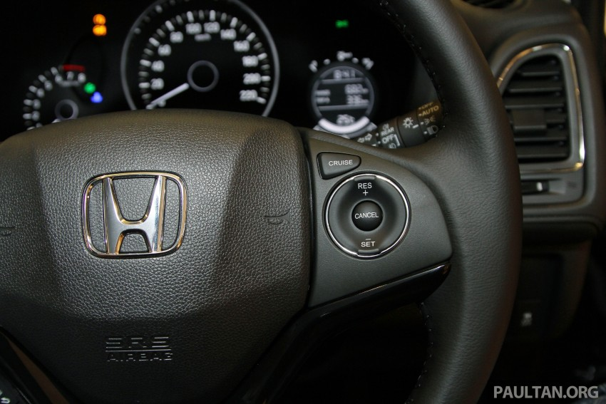 Honda HR-V in Malaysia – a closer look inside and out Image #304095