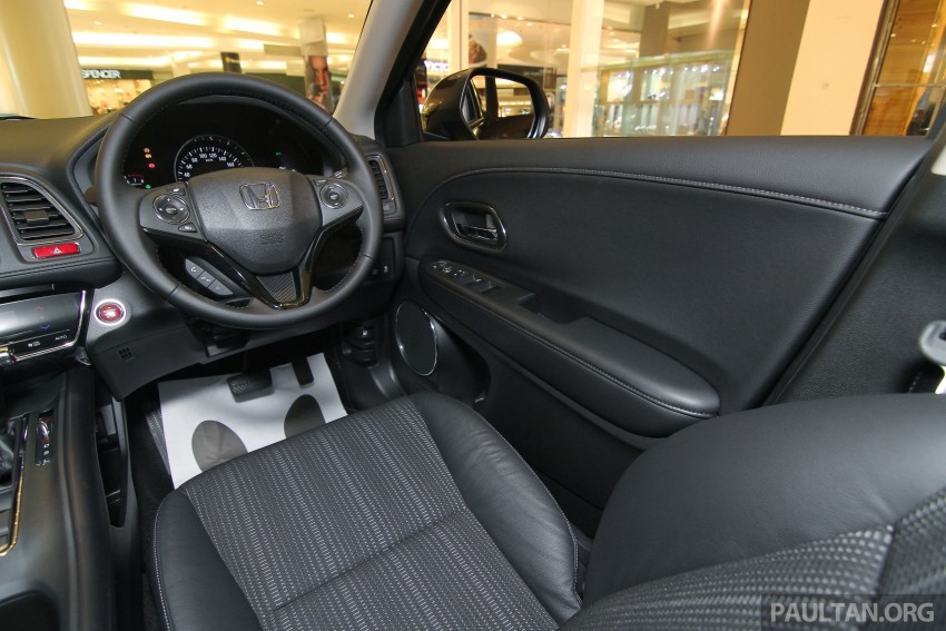 Honda HR-V in Malaysia – a closer look inside and out Image #304105