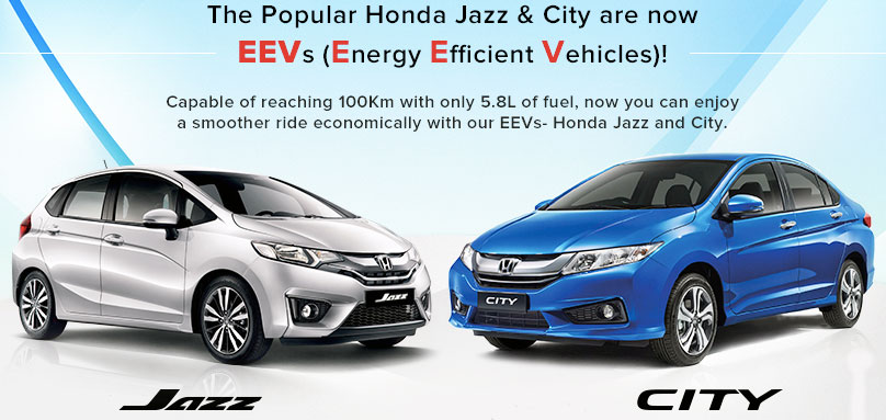 Honda Jazz, City qualified as Energy Efficient Vehicles Image #299812