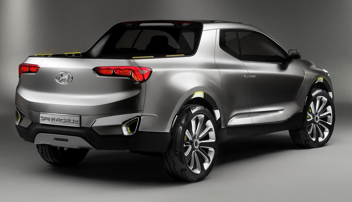 hyundai santa cruz crossover truck concept unveiled image. Black Bedroom Furniture Sets. Home Design Ideas