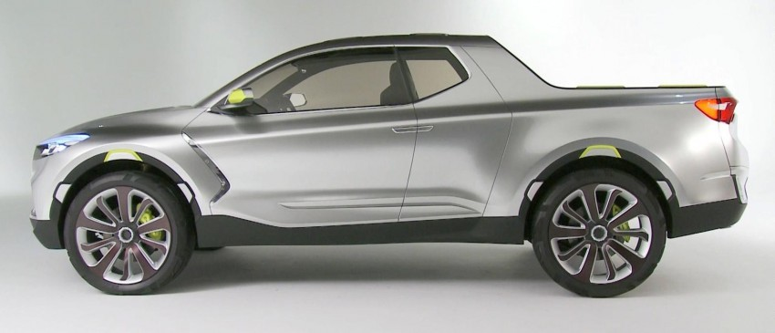 Hyundai Santa Cruz Crossover Truck concept unveiled Image #302817