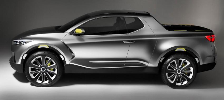 Hyundai Santa Cruz Crossover Truck concept unveiled Image #302818
