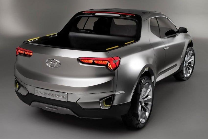 Hyundai Santa Cruz Crossover Truck concept unveiled Image #302820