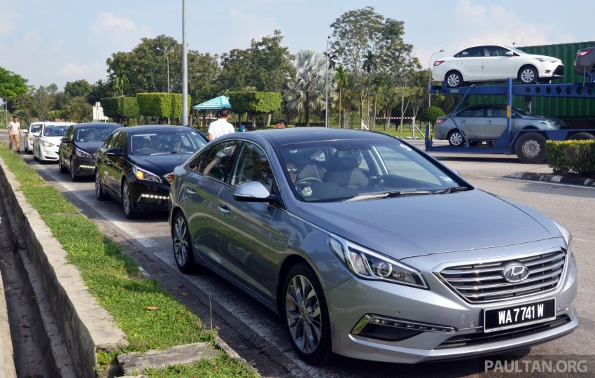 DRIVEN: Hyundai Sonata LF 2.0 Executive tested Image #301426